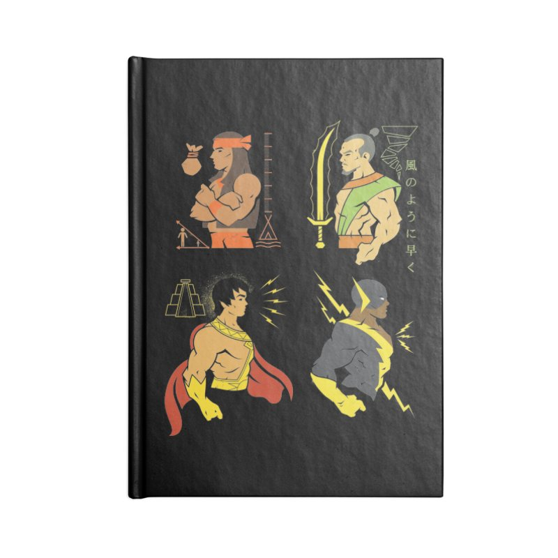 Diversity Is A Superpower - DC Superhero Profiles Accessories Notebook by daab Creative's Artist Shop
