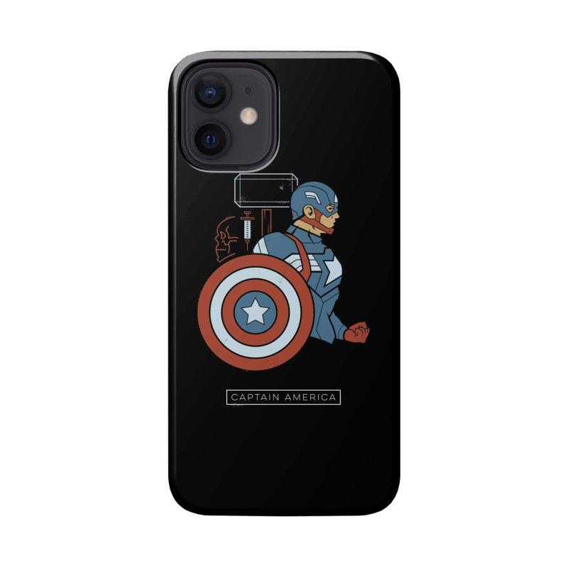 Superhero Profile: Captain America Accessories Phone Case by daab Creative's Artist Shop