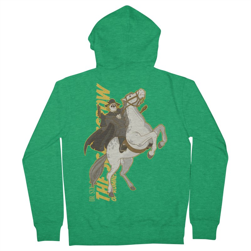 Dr. Syn, The Scarecrow of Romney Marsh Women's Zip-Up Hoody by daab Creative's Artist Shop