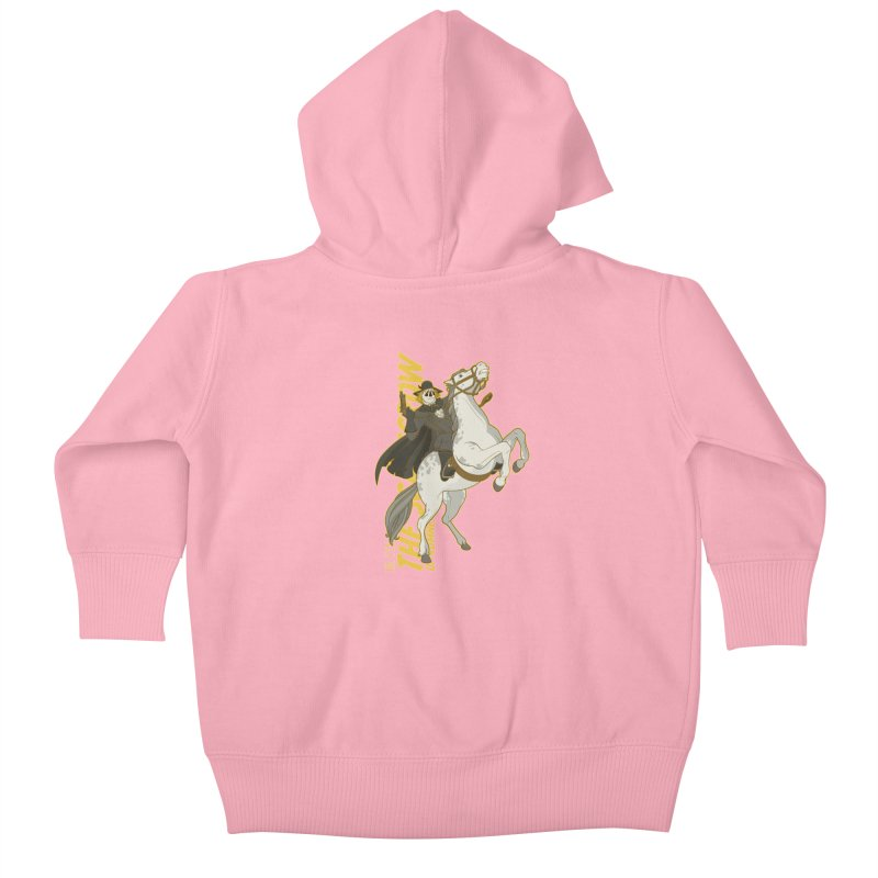Dr. Syn, The Scarecrow of Romney Marsh Kids Baby Zip-Up Hoody by daab Creative's Artist Shop