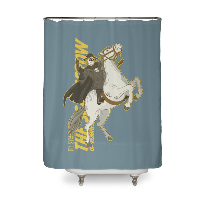 Dr. Syn, The Scarecrow of Romney Marsh Home Shower Curtain by daab Creative's Artist Shop