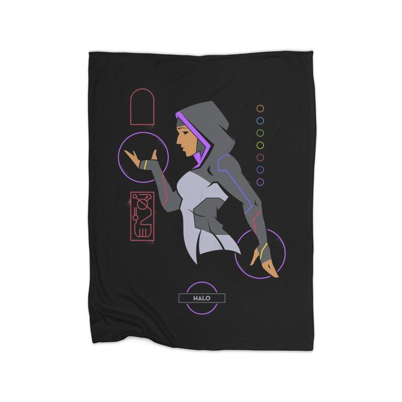 Halo - DC Superhero Profile Home Blanket by daab Creative's Artist Shop