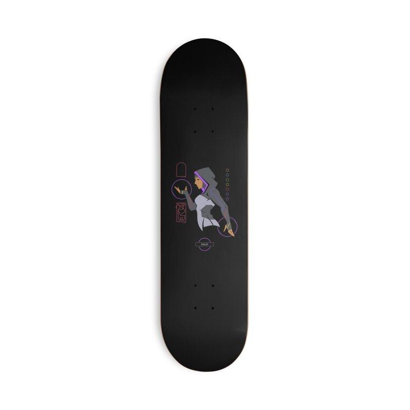 Halo - DC Superhero Profile Accessories Skateboard by daab Creative's Artist Shop