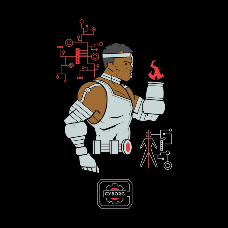 Cyborg - DC Superhero Profiles by daab Creative's Artist Shop