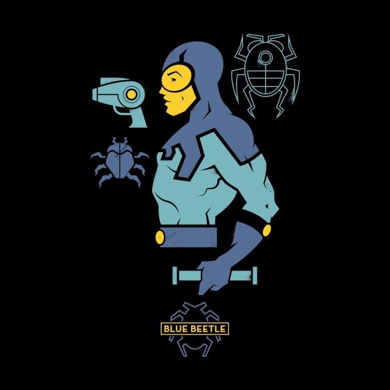 Blue Beetle - DC Superhero Profiles by daab Creative's Artist Shop