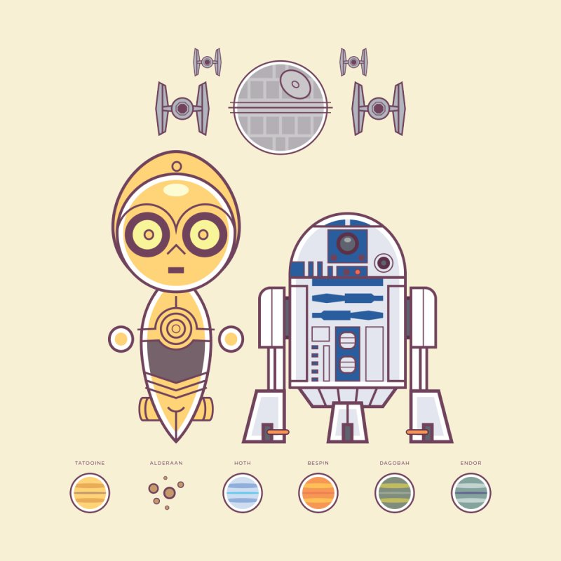 The Droids You're Looking For by daabcreative's Artist Shop