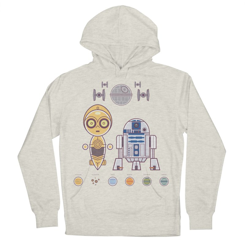 The Droids You're Looking For Men's French Terry Pullover Hoody by daab Creative's Artist Shop