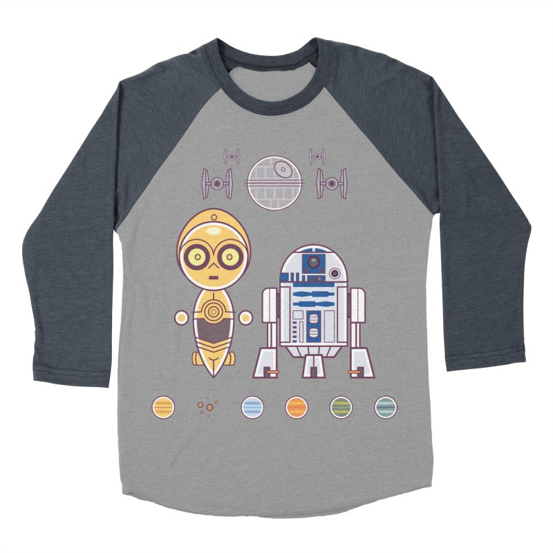 The Droids You're Looking For Women's Baseball Triblend Longsleeve T-Shirt by daab Creative's Artist Shop