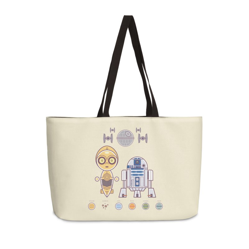 The Droids You're Looking For Accessories Weekender Bag Bag by daab Creative's Artist Shop