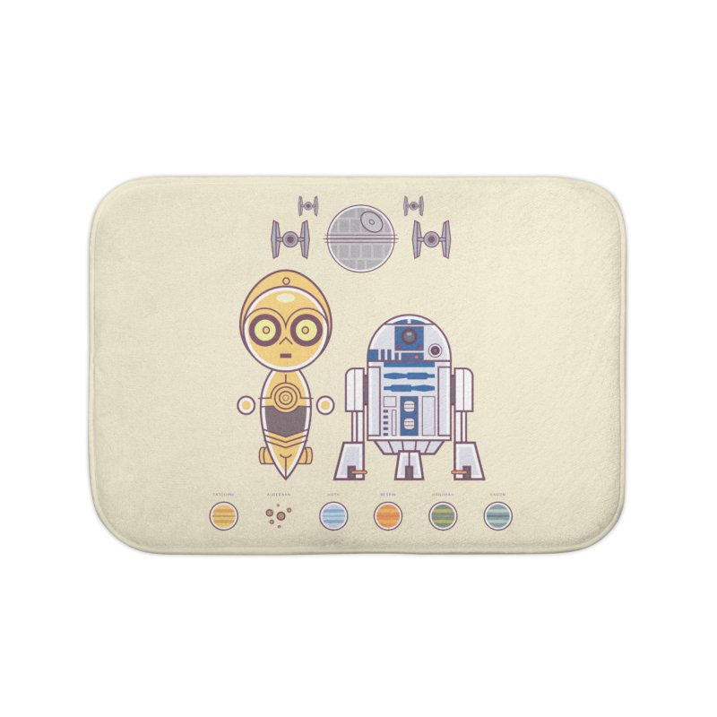 The Droids You're Looking For Home Bath Mat by daab Creative's Artist Shop