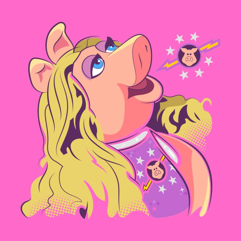 Miss Piggy - Pigs In Space Women's T-Shirt by daab Creative's Artist Shop