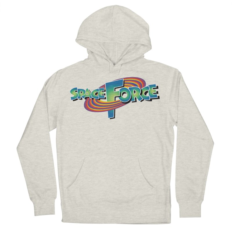 Space Force: Defend The Cosmos Men's French Terry Pullover Hoody by daab Creative's Artist Shop