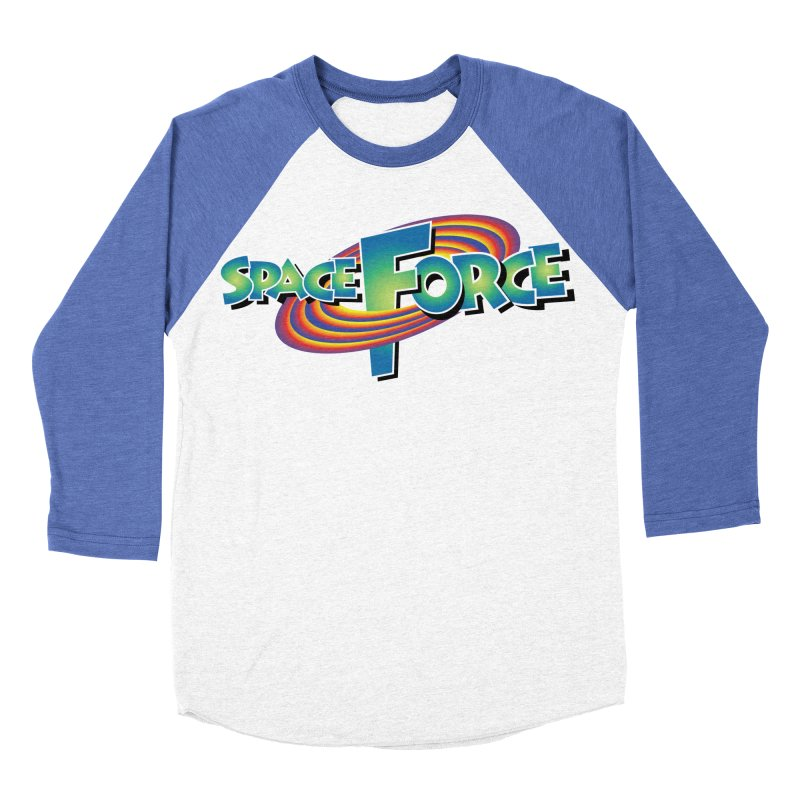 Space Force: Defend The Cosmos Women's Baseball Triblend Longsleeve T-Shirt by daab Creative's Artist Shop