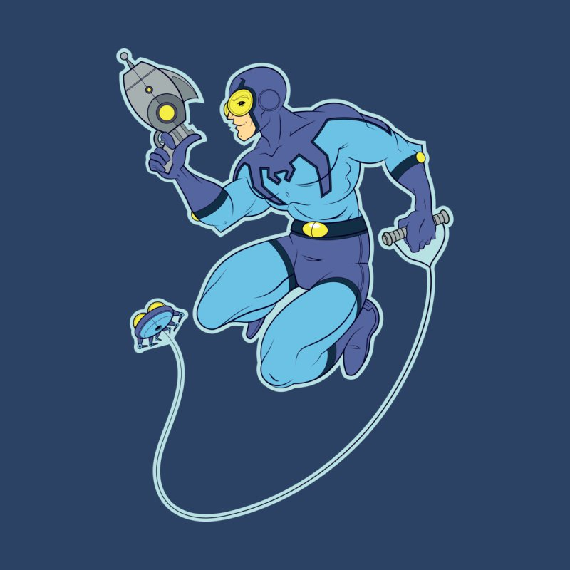 Blue Beetle Accessories Phone Case by daab Creative's Artist Shop