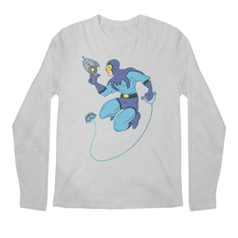 Blue Beetle Men's Regular Longsleeve T-Shirt by daab Creative's Artist Shop