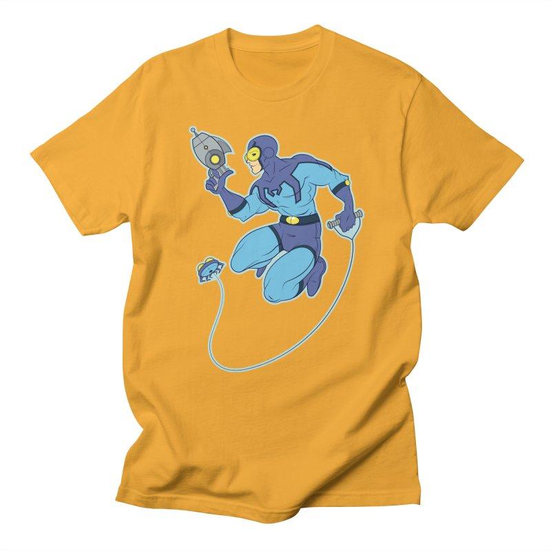 Blue Beetle Men's T-Shirt by daab Creative's Artist Shop