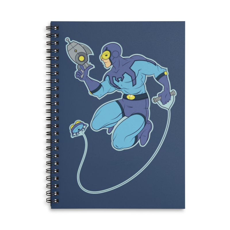 Blue Beetle Accessories Notebook by daab Creative's Artist Shop