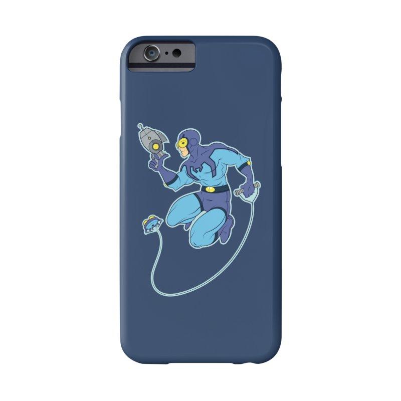 Blue Beetle Accessories Phone Case by daab Creative's Artist Shop