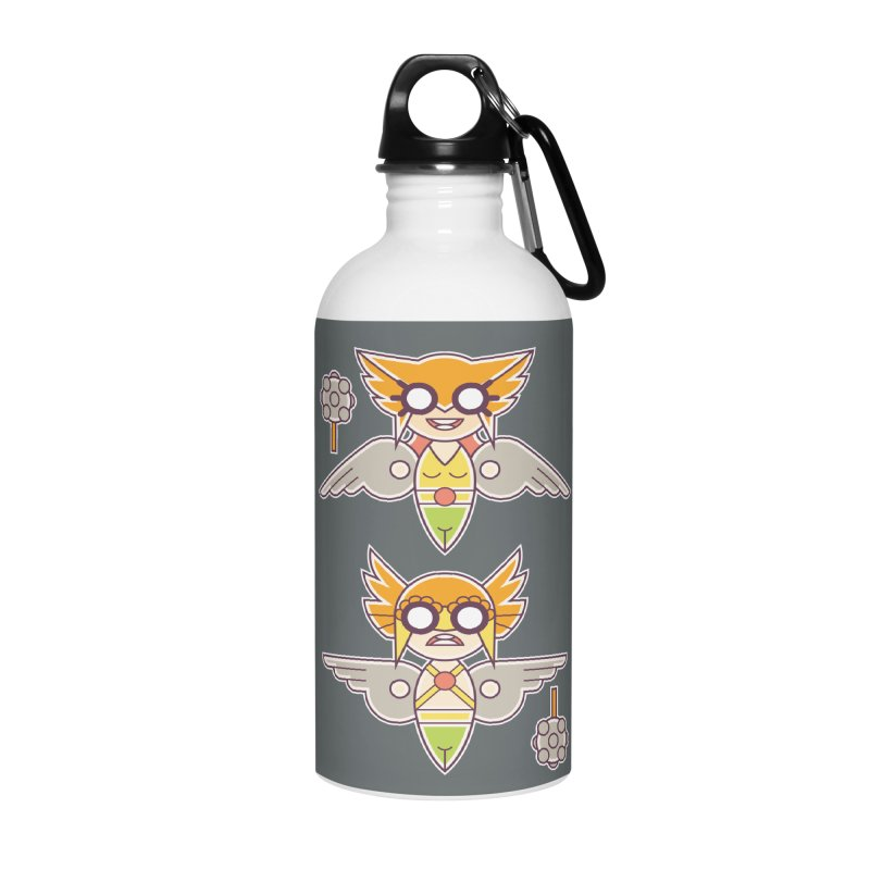 The Hawks: Love Birds Accessories Water Bottle by daab Creative's Artist Shop