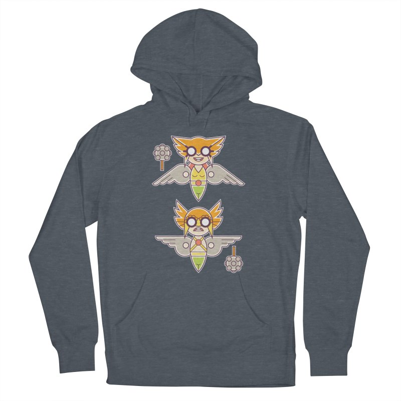 The Hawks: Love Birds Men's French Terry Pullover Hoody by daab Creative's Artist Shop