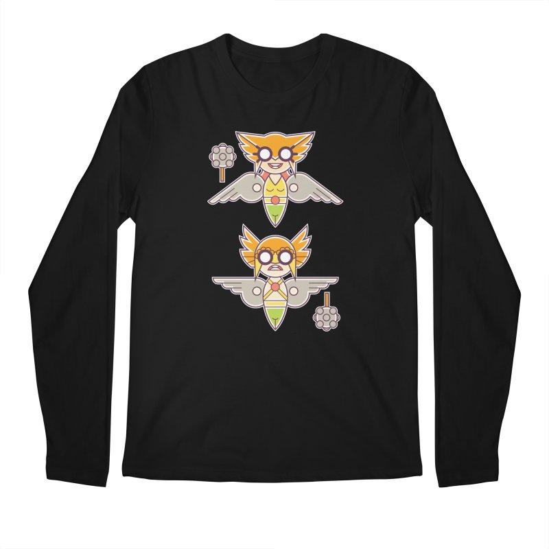 The Hawks: Love Birds Men's Regular Longsleeve T-Shirt by daab Creative's Artist Shop