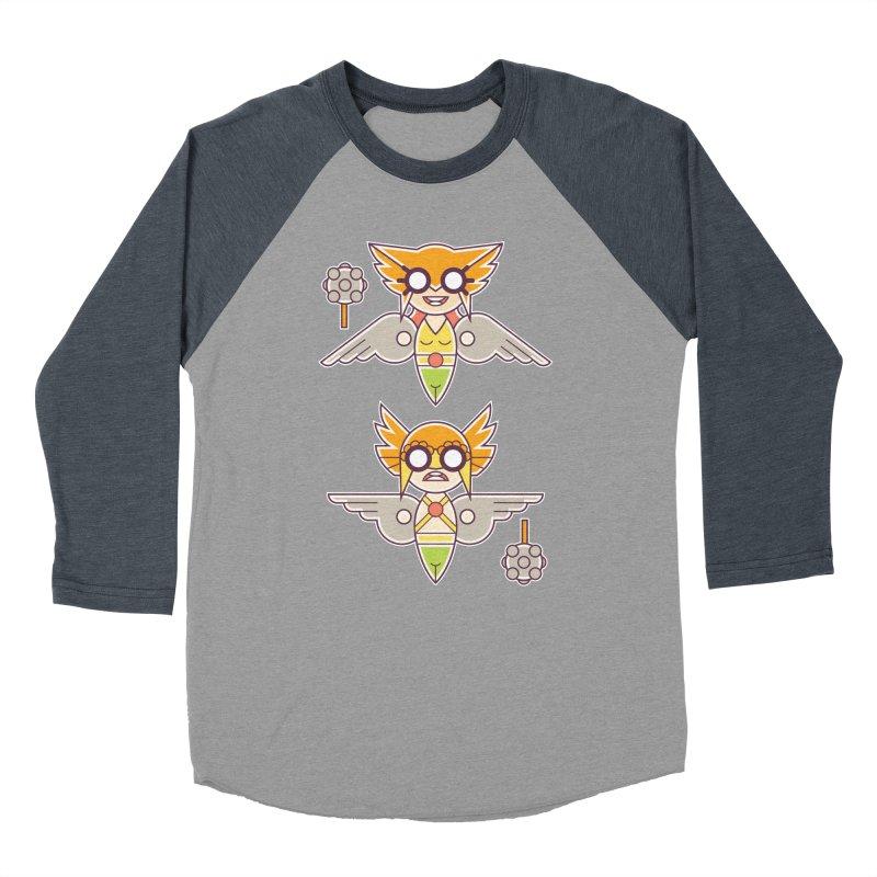 The Hawks: Love Birds Women's Baseball Triblend Longsleeve T-Shirt by daab Creative's Artist Shop