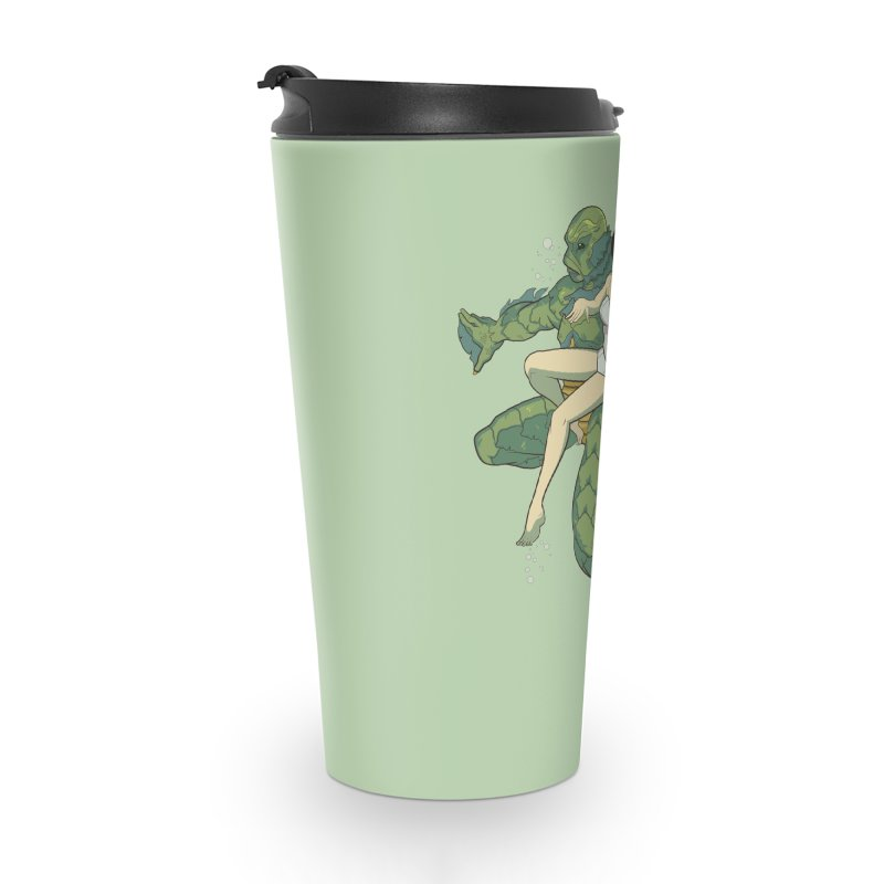 Creature From The Black Lagoon Accessories Travel Mug by daab Creative's Artist Shop