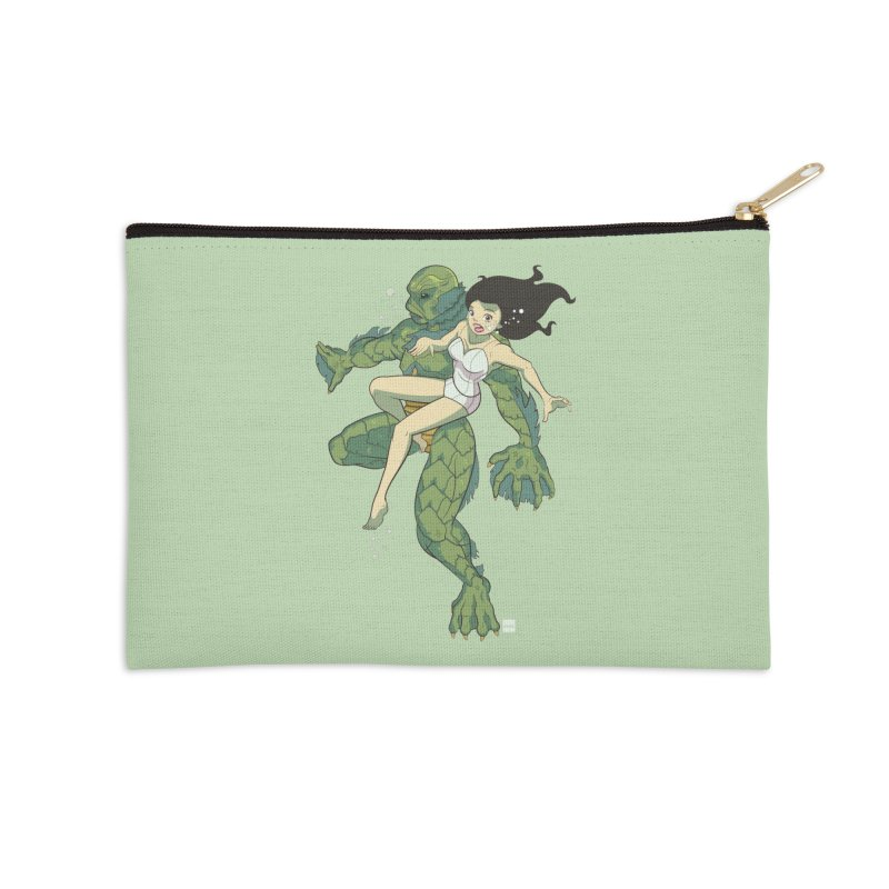 Creature From The Black Lagoon Accessories Zip Pouch by daab Creative's Artist Shop