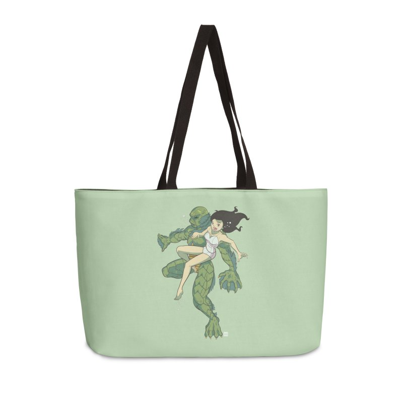 Creature From The Black Lagoon Accessories Weekender Bag Bag by daab Creative's Artist Shop