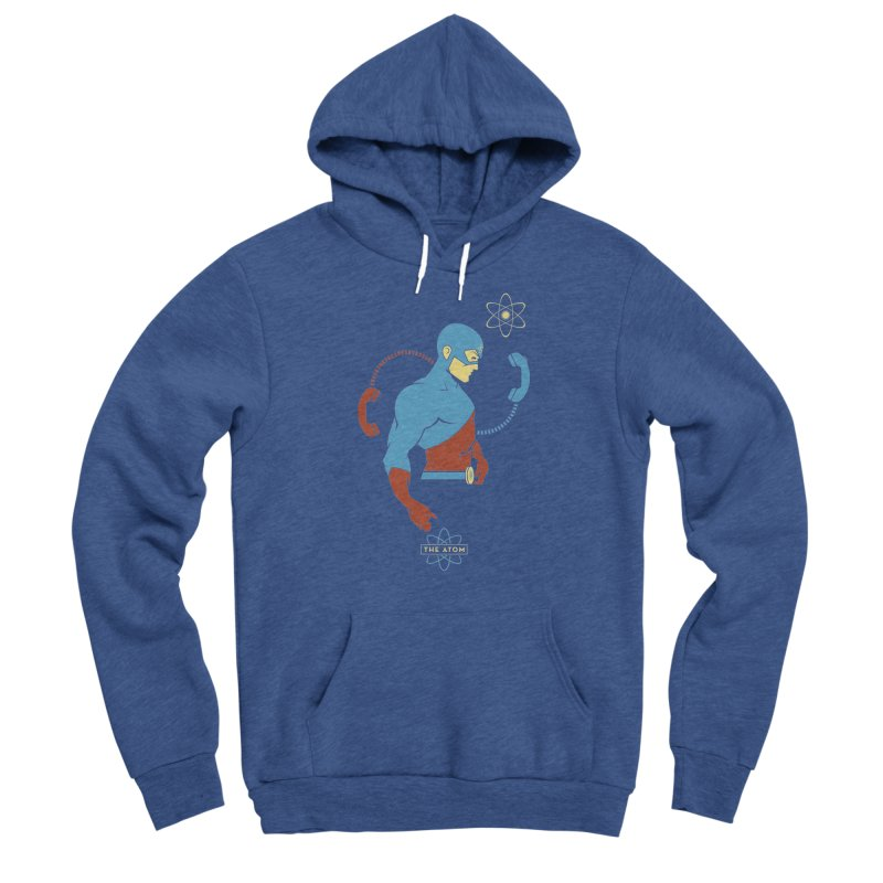 The Atom - DC Superhero Profile Women's Pullover Hoody by daab Creative's Artist Shop