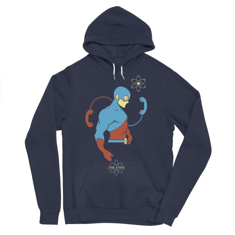 The Atom - DC Superhero Profile Men's Sponge Fleece Pullover Hoody by daab Creative's Artist Shop