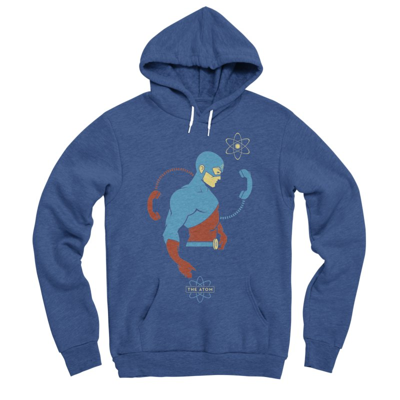 The Atom - DC Superhero Profile Men's Pullover Hoody by daab Creative's Artist Shop