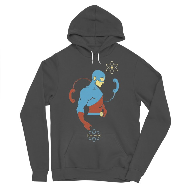 The Atom - DC Superhero Profile Men's Sponge Fleece Pullover Hoody by daab Creative's Artist Shop