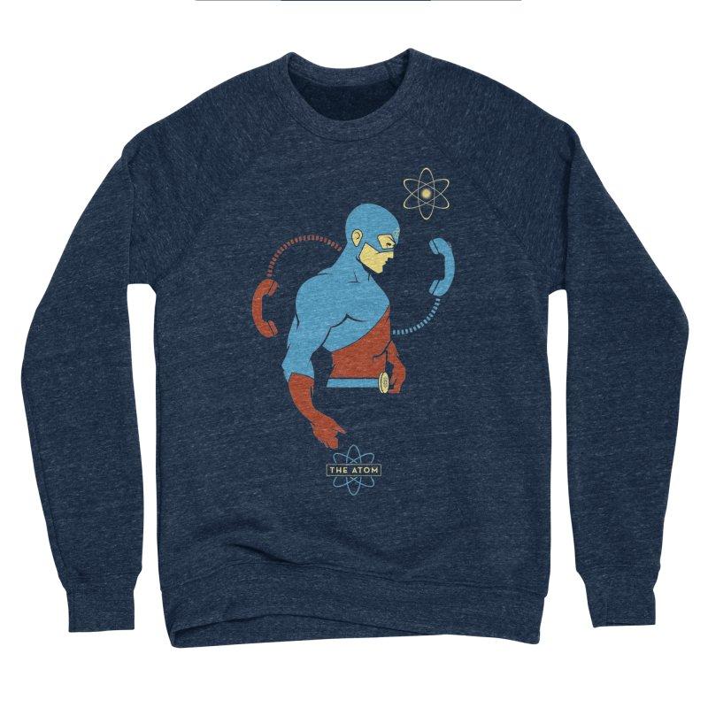 The Atom - DC Superhero Profile Men's Sponge Fleece Sweatshirt by daab Creative's Artist Shop