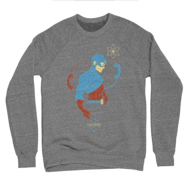 The Atom - DC Superhero Profile Women's Sponge Fleece Sweatshirt by daab Creative's Artist Shop