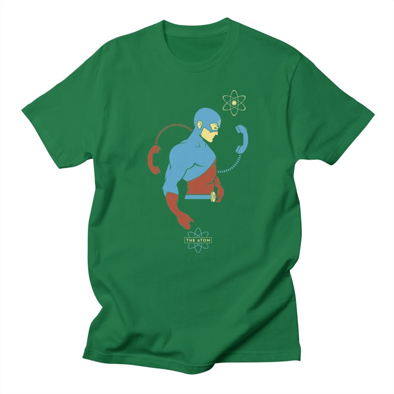 The Atom - DC Superhero Profile Men's T-Shirt by daab Creative's Artist Shop
