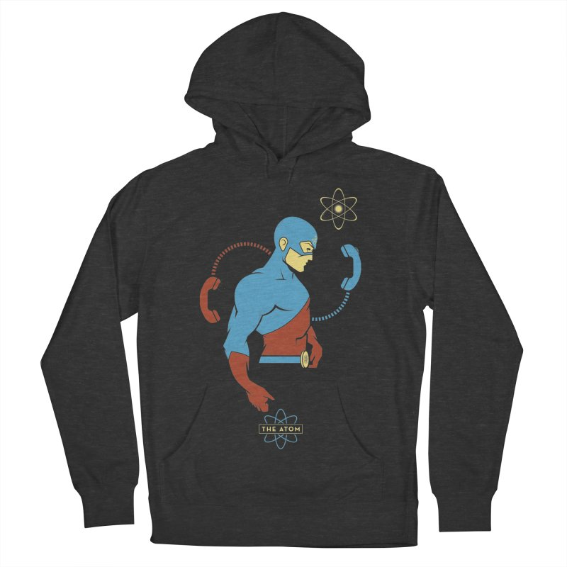 The Atom - DC Superhero Profile Men's French Terry Pullover Hoody by daab Creative's Artist Shop