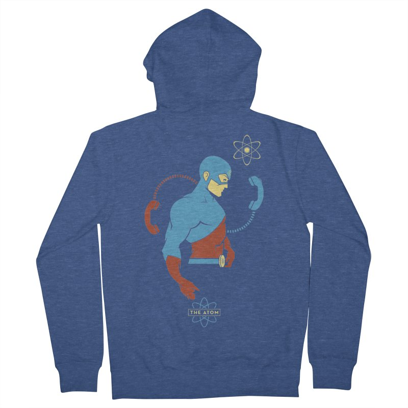 The Atom - DC Superhero Profile Women's French Terry Zip-Up Hoody by daab Creative's Artist Shop