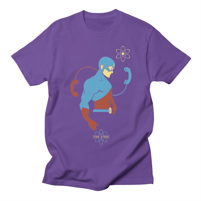 The Atom - DC Superhero Profile Women's Regular Unisex T-Shirt by daab Creative's Artist Shop