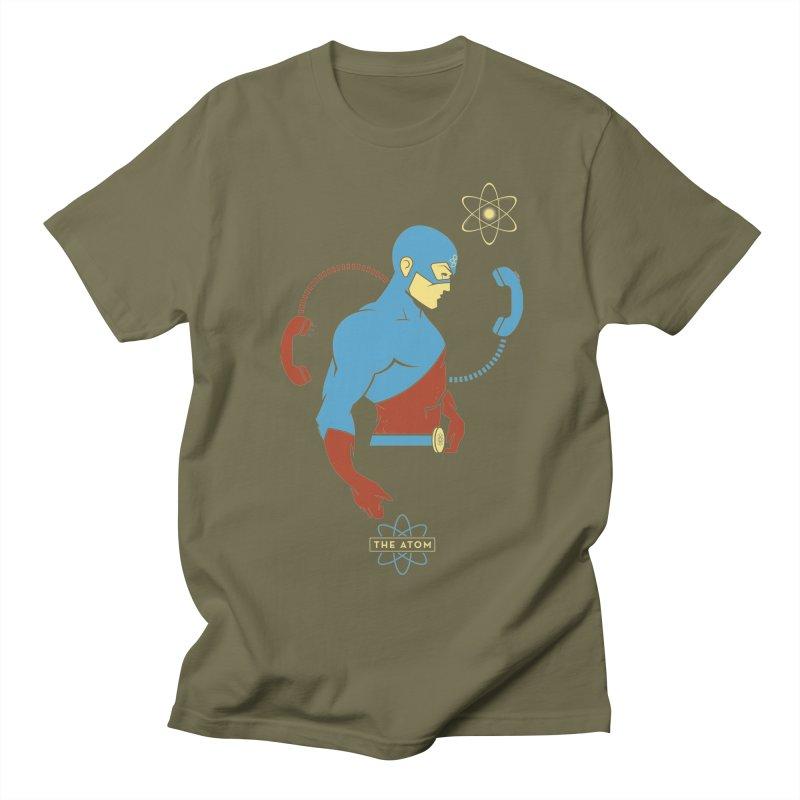 The Atom - DC Superhero Profile Women's Regular Unisex T-Shirt by daab Creative's Artist Shop