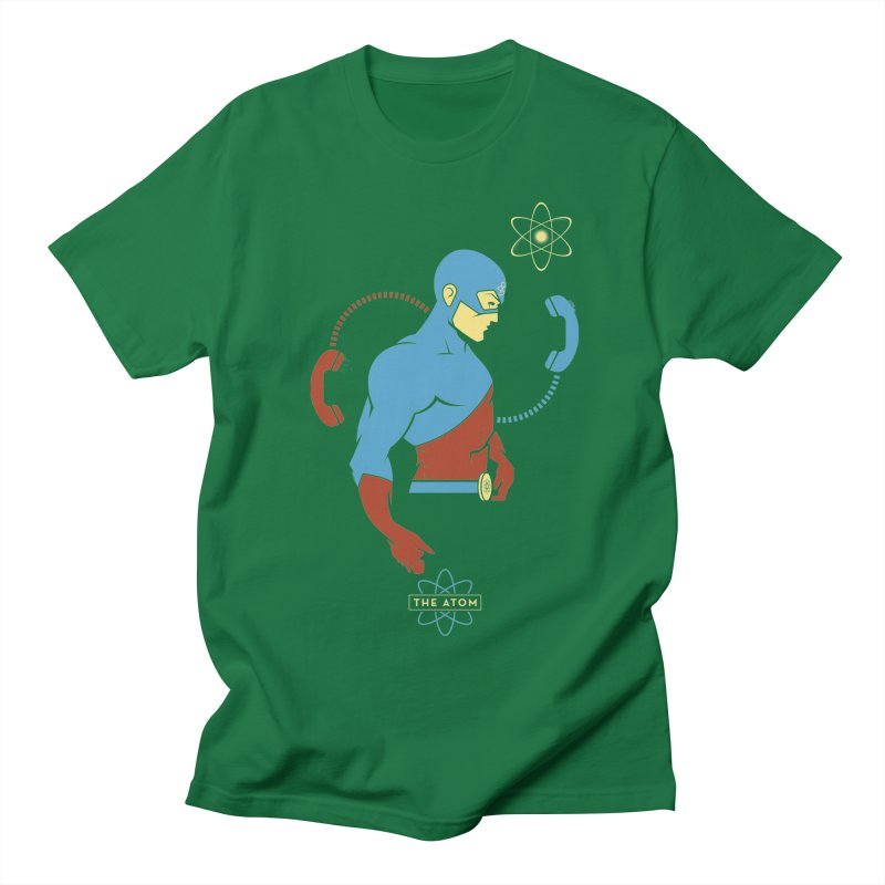 The Atom - DC Superhero Profile Men's T-Shirt by daab Creative's Artist Shop