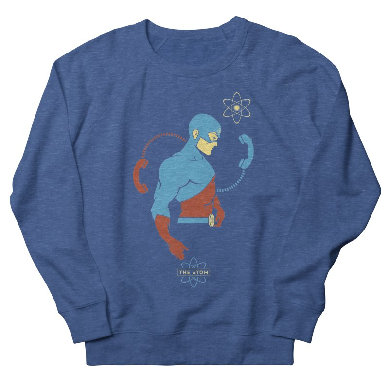The Atom - DC Superhero Profile Women's Sweatshirt by daab Creative's Artist Shop