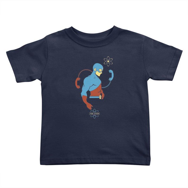 The Atom - DC Superhero Profile Kids Toddler T-Shirt by daab Creative's Artist Shop