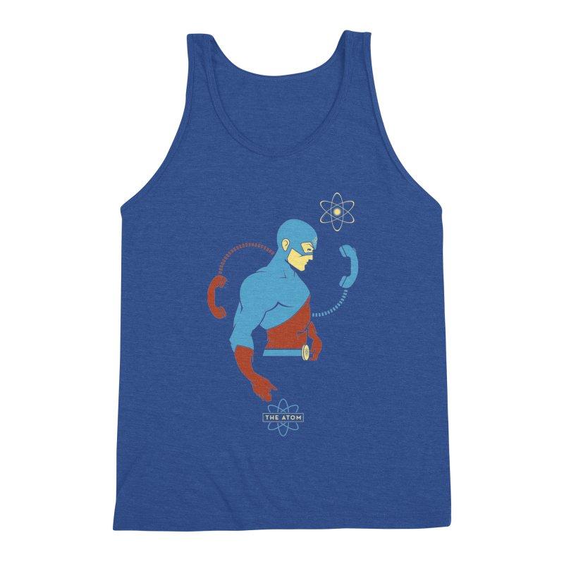 The Atom - DC Superhero Profile Men's Tank by daab Creative's Artist Shop
