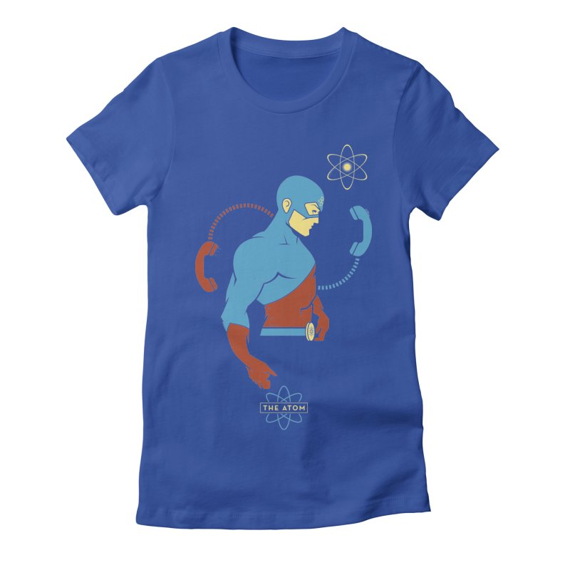 The Atom - DC Superhero Profile Women's T-Shirt by daab Creative's Artist Shop