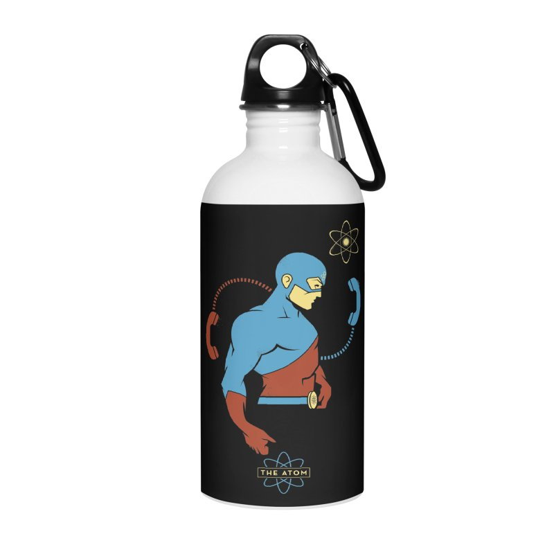 The Atom - DC Superhero Profile Accessories Water Bottle by daab Creative's Artist Shop