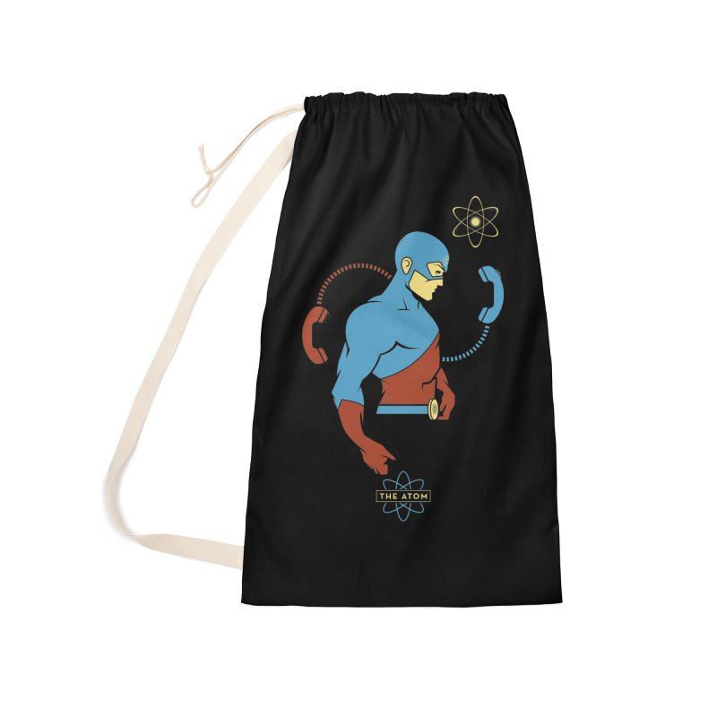 The Atom - DC Superhero Profile Accessories Laundry Bag Bag by daab Creative's Artist Shop