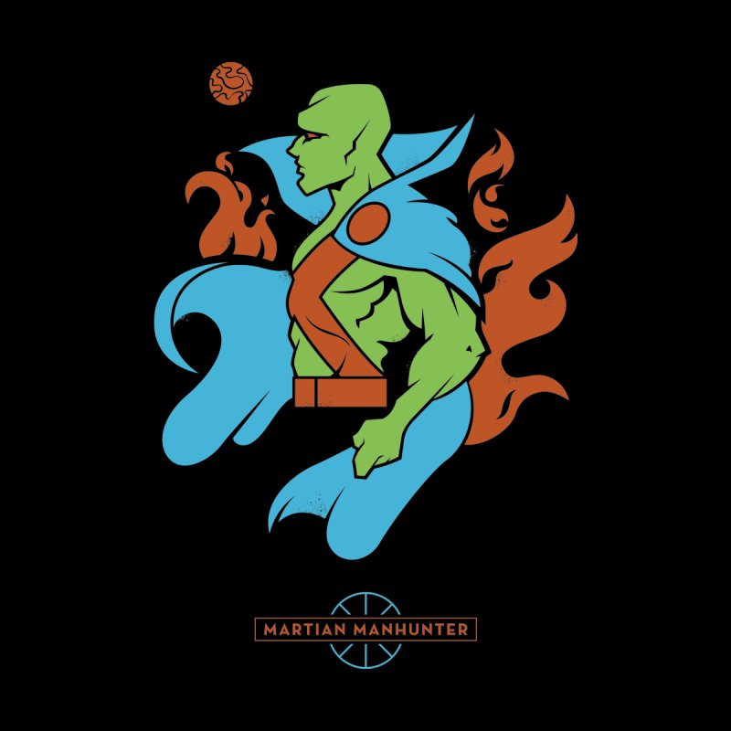 Martian Manhunter - DC Superhero Profile Accessories Sticker by daab Creative's Artist Shop