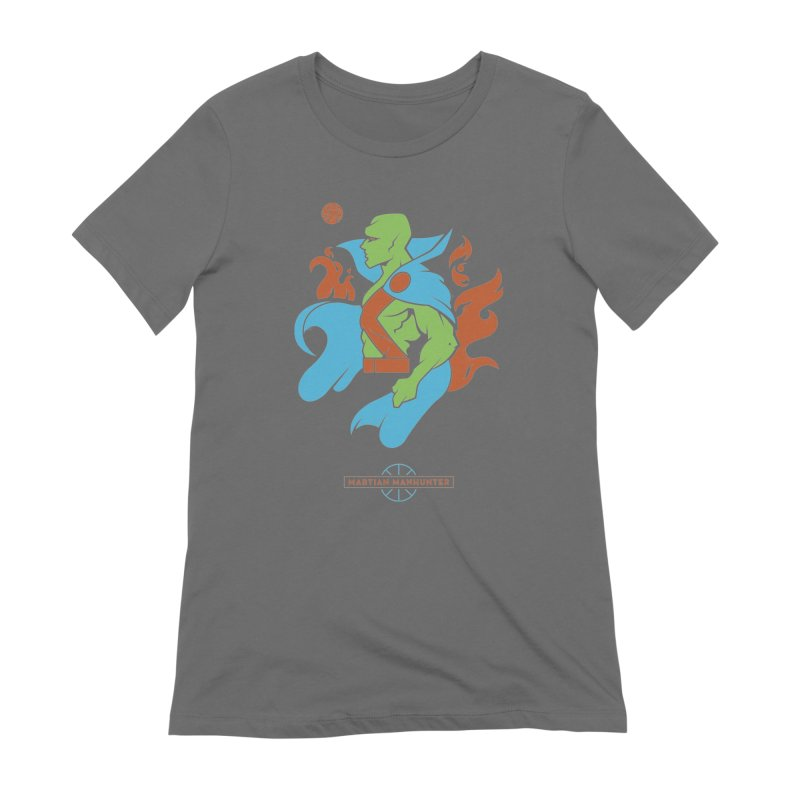 Martian Manhunter - DC Superhero Profile Women's T-Shirt by daab Creative's Artist Shop