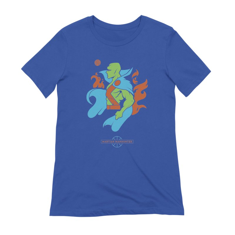 Martian Manhunter - DC Superhero Profile Women's Extra Soft T-Shirt by daab Creative's Artist Shop